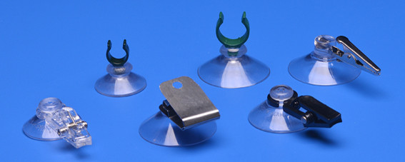 Suction cups with clip