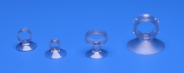 Suction cup with collar & eyelet