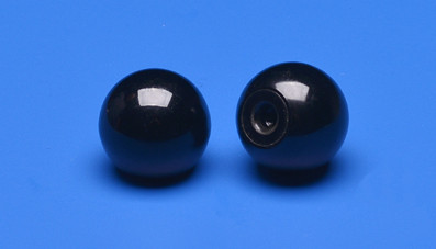 Plastic ball M4 thread, Ø 16mm