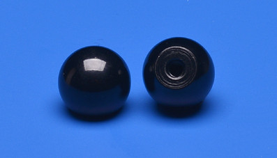 Plastic ball M4 thread, Ø 20mm