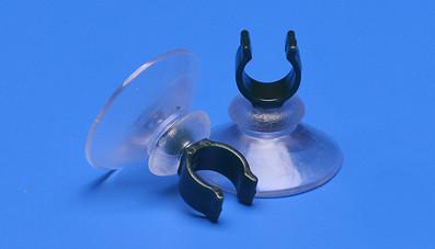 Saugnapf 30mm mit Clip 10mm Durchmesser