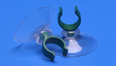 Saugnapf 40mm mit Clip 15mm Durchmesser