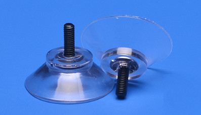 Sucker 30 mm with plastic thread M4 11 mm