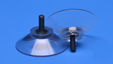 Saugnapf 35mm mit Kunststoffgewinde M4 11mm