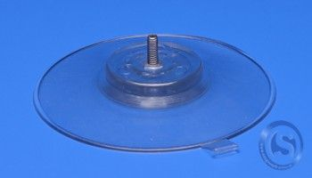 Suction cup Ø 130mm with screw transparent