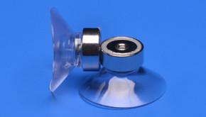 Saugnapf 40mm mit Magnet