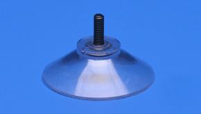 Saugnapf Ø 40mm mit Kunststoffgewinde M4 11mm