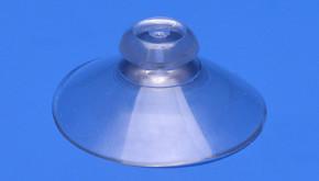 Saugnapf Ø 40mm mit Knopf (flache Hinterschneidung)